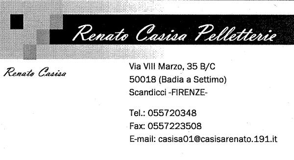 Renato Casisa Pelletterie